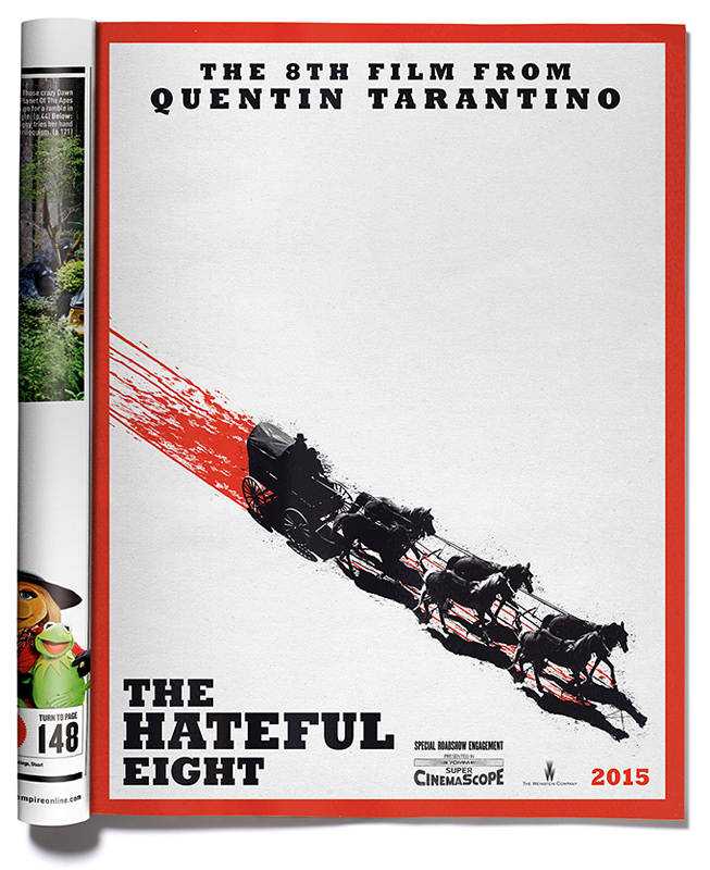 THE HATEFUL EIGHT : Le Poster !