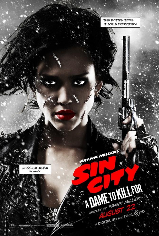 Jessica Alba is Nancy in Sin City 2 (Poster)