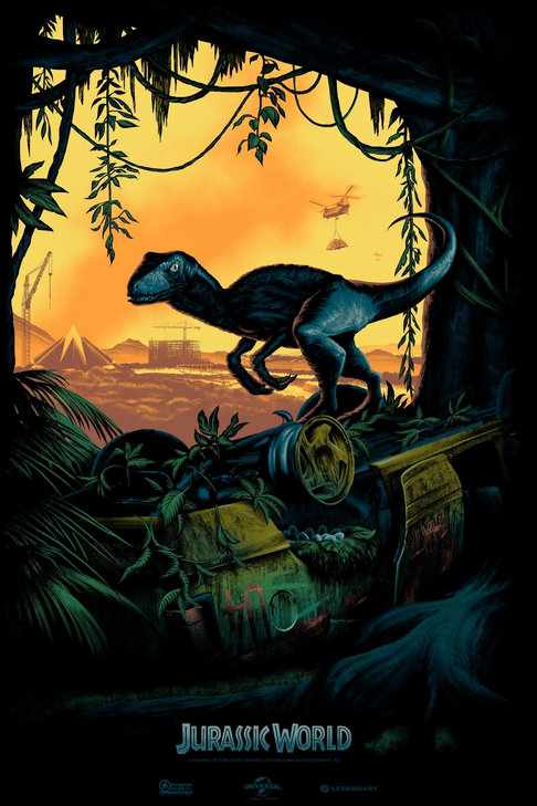 Un poster pour Jurassic World aka Jurassic Park 4