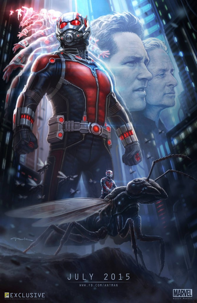 Ant-Man : Poster spécial Comic-Con 2014