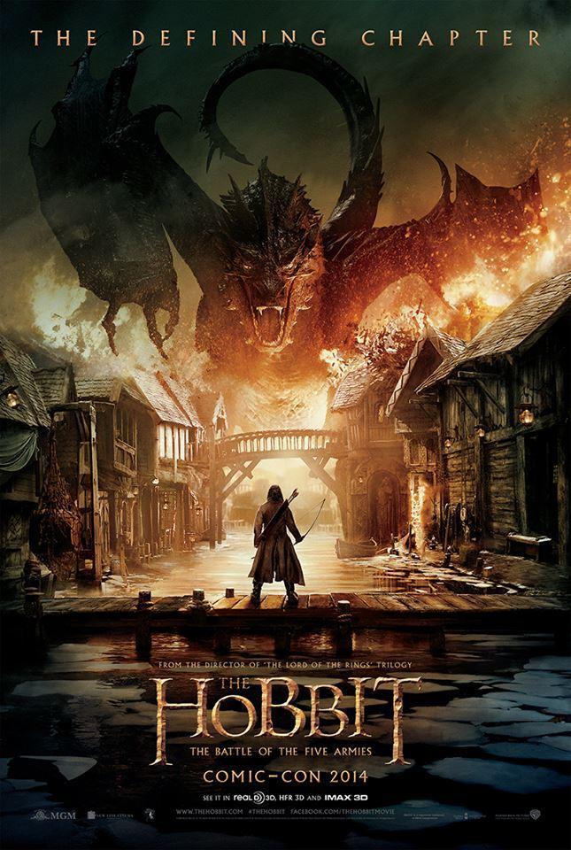 Un premier poster pour «Le Hobbit La bataille des cinq armées»