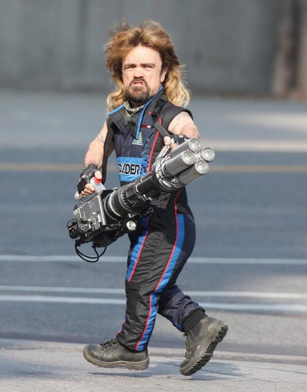 Peter Dinklage in Full Effect