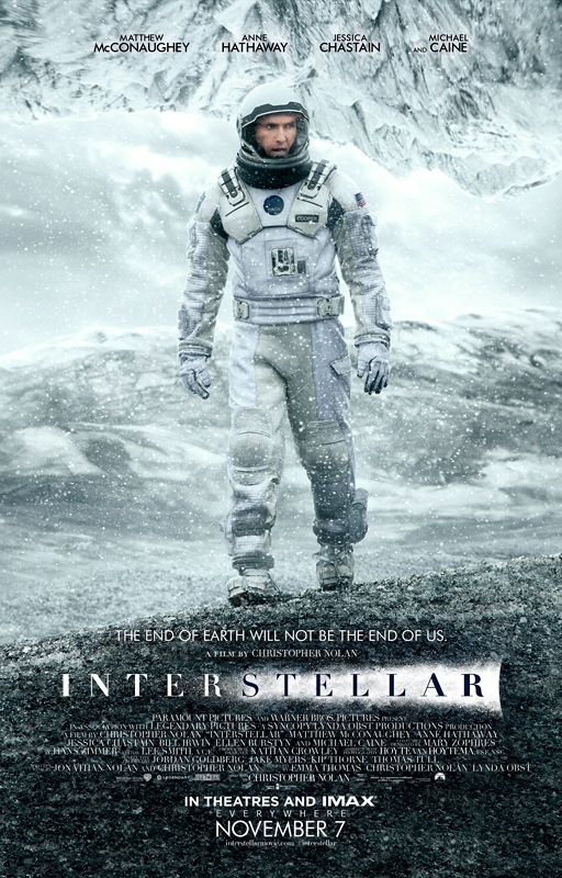 Interstellar : Le nouveau Poster