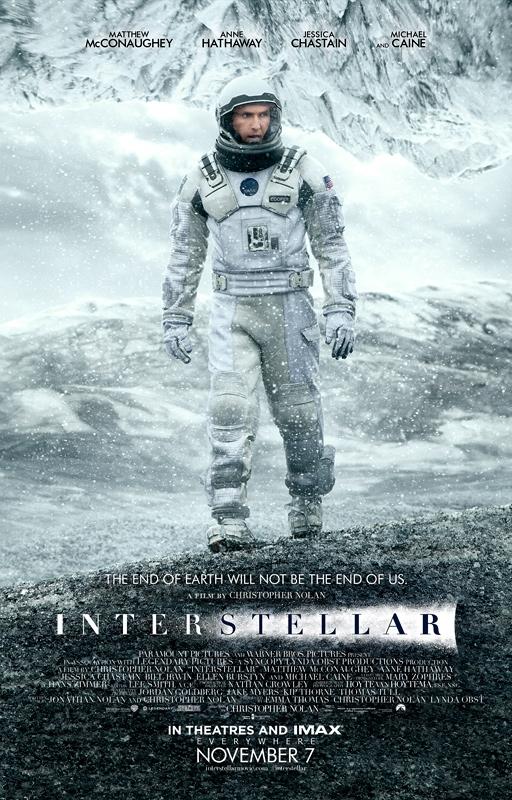 Interstellar : Le nouveau Poster