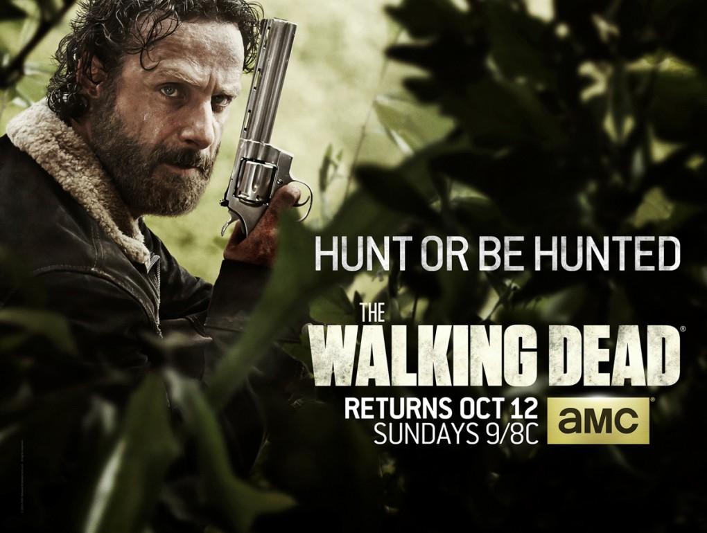 The Walking Dead Saison 5 : Nouveau Poster
