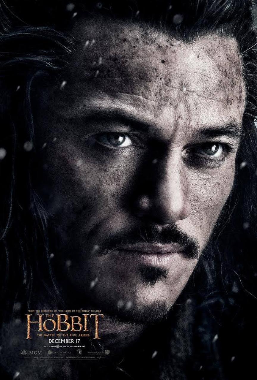 Le Hobbit – La Bataille des Cinq Armées : Nouveau Poster (Bard)