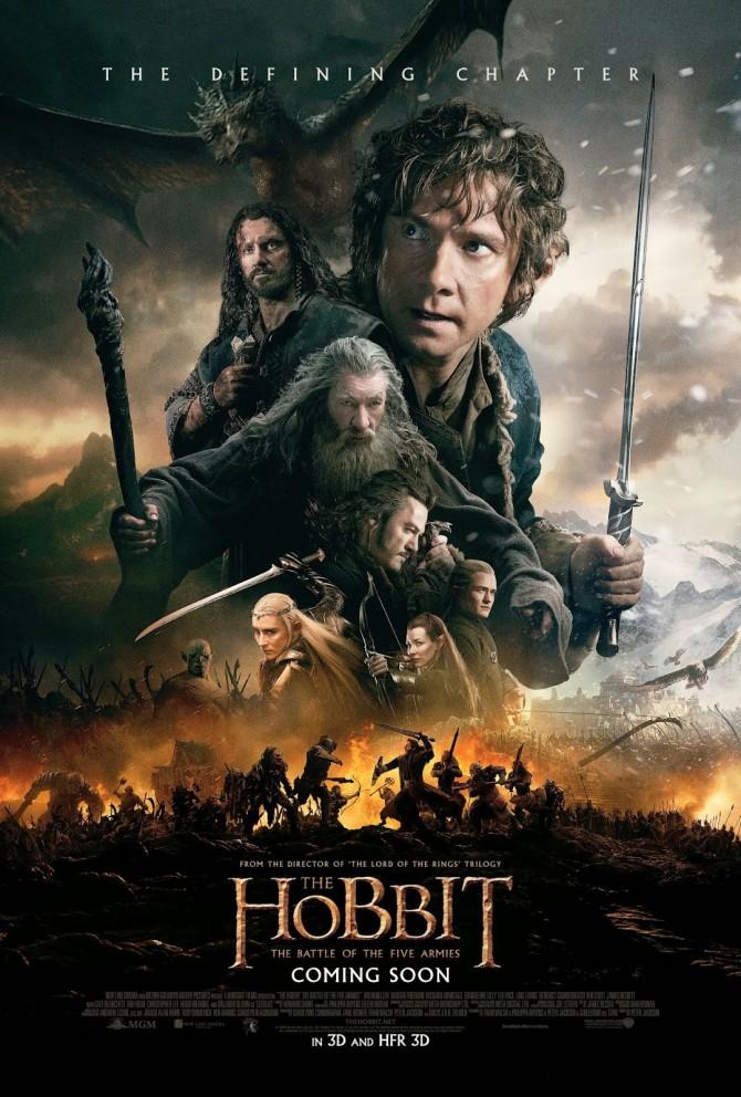 Le Hobbit – La Bataille des Cinq Armées : Poster Final